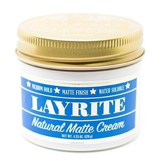 Layrite Natural Matte Cream 4.25-ounce Pomade