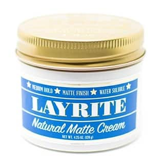 Layrite Natural Matte Cream 4.25-ounce Pomade|https://ak1.ostkcdn.com/images/products/13341655/P20044357.jpg?impolicy=medium