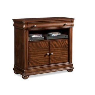 Made to Order Klaussner Furniture Parkview Brown Wood Media Chest