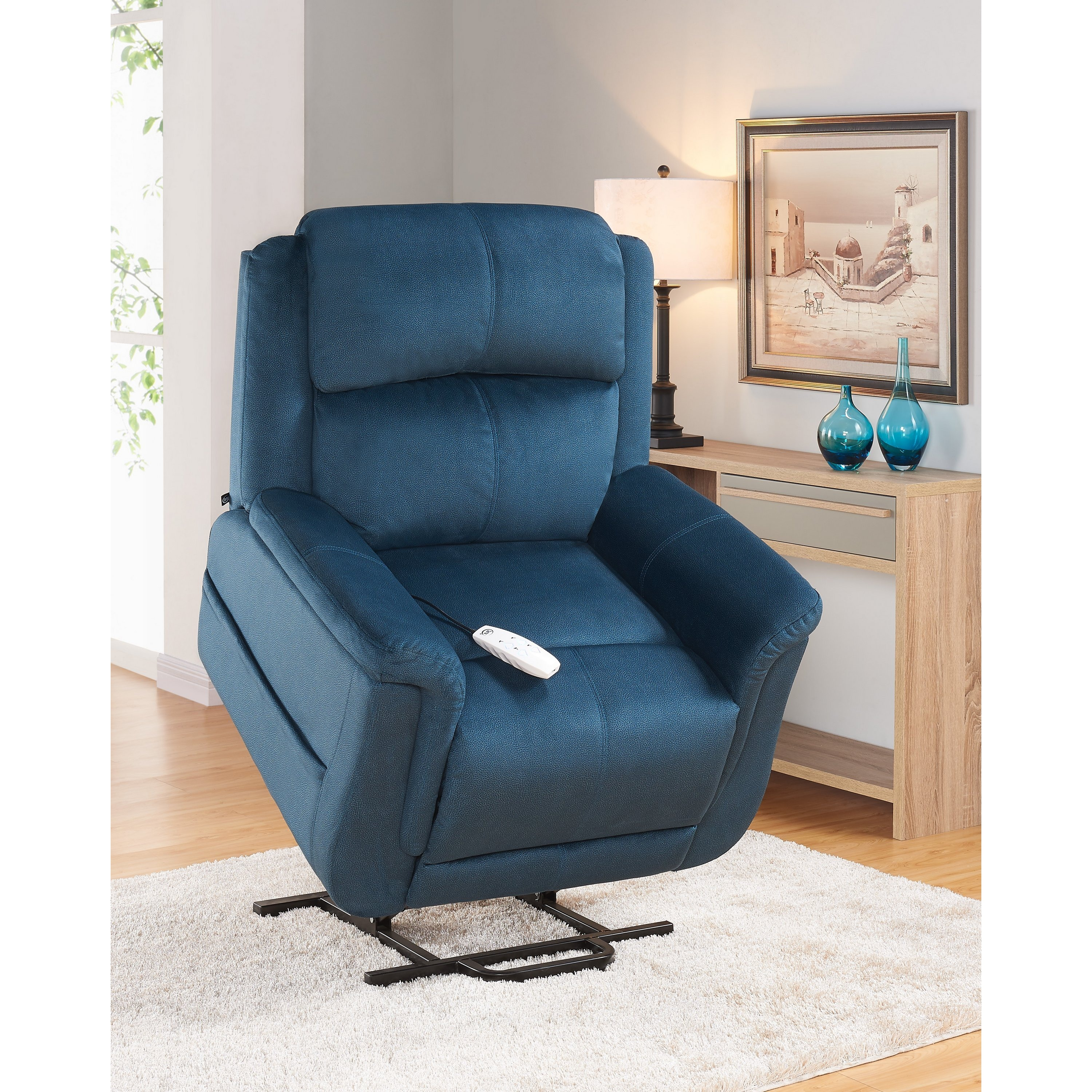 Serta Comfort Lift H&ton Two Motor Infinite Position Po.  sc 1 st  Nextag & Infinite position recliner power lift chair | Chairs | Compare ... islam-shia.org