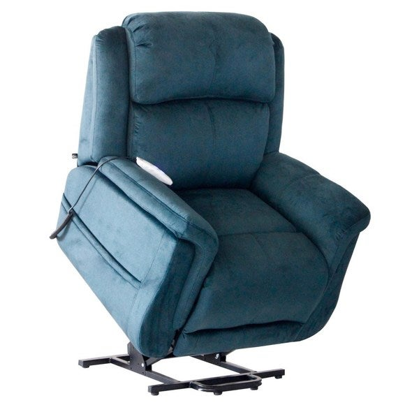 Serta Comfort Lift H&ton Two Motor Infinite Position Power Lift Reclining Chair - Free Shipping Today - Overstock.com - 20044502  sc 1 st  Overstock.com & Serta Comfort Lift Hampton Two Motor Infinite Position Power Lift ... islam-shia.org