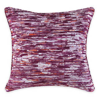 Christian Siriano Watercolor Bloom Pink 20-inch x 20-inch Decorative Throw Pillow