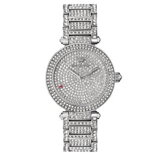 Juicy Couture Victoria Stainless Steel Crystal Japanese Quartz Movement Bracelet Watch