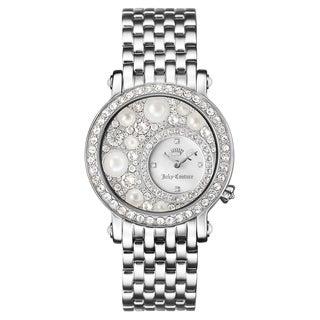 Juicy Couture Women's La Luxe Silvertone Stainless Steel Watch