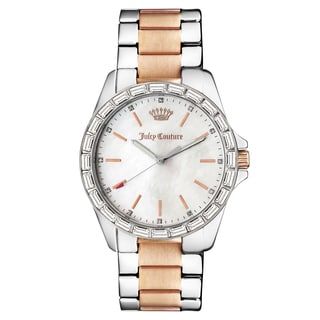 Juicy Couture Women's Laguna Rose-goldplated Stainless-steel Watch