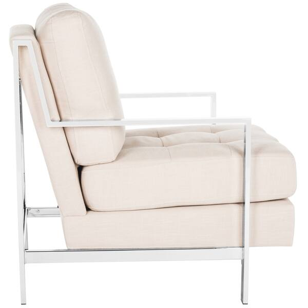 Super Shop Safavieh Mid Century Modern Glam Walden Linen Beige Gamerscity Chair Design For Home Gamerscityorg