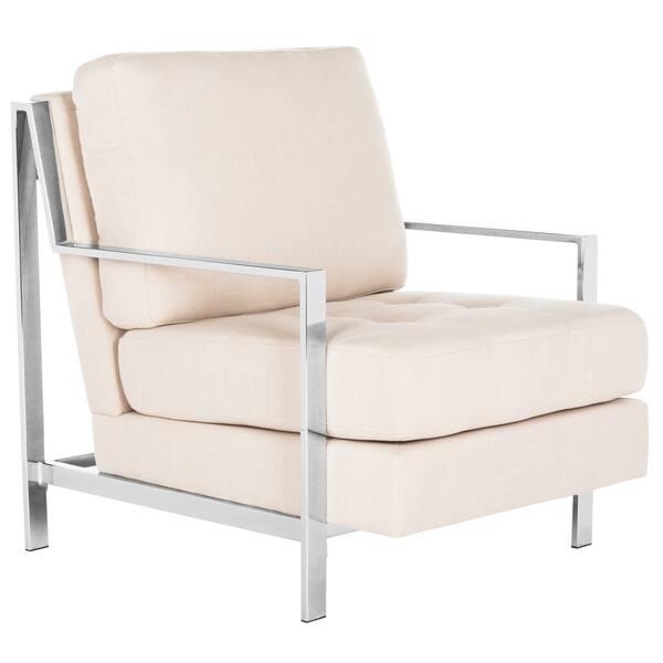 Awesome Shop Safavieh Mid Century Modern Glam Walden Linen Beige Gamerscity Chair Design For Home Gamerscityorg