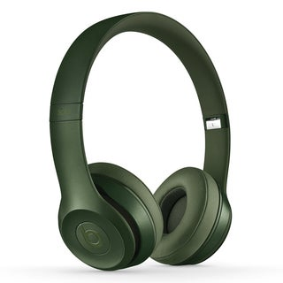 Beats By Dre Solo 2 Hunter Green Refurbished Wired On-ear Headphones