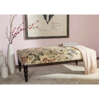 Safavieh Simba Multicolored Floral Print Bench