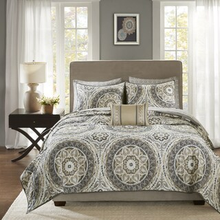 Madison Park Essentials Aurora Complete Coverlet Set