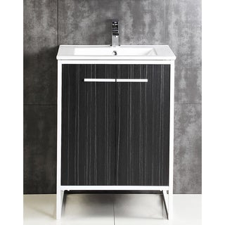 "Vdara 24"" Dawn Gray Bathroom vanity Cabinet Set"