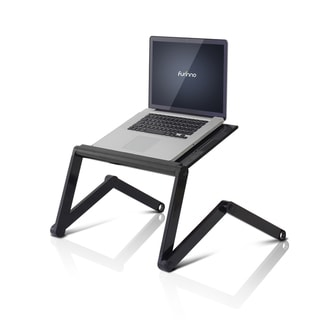 Furinno K6 Premium Aluminum 360-degree Adjustable Portable Folding Lapdesk