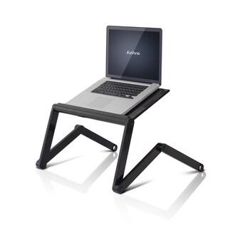 Furinno K6 Premium Aluminum 360-degree Adjustable Portable Folding Lapdesk