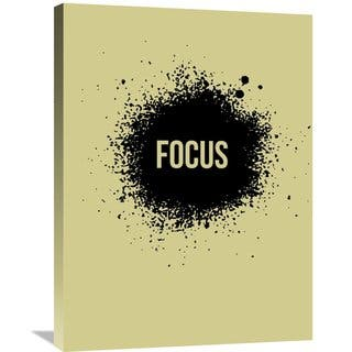 Naxart Studio 'Focus' Multicolored Stretched Canvas Wall Art