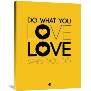 Naxart Studio 'Do What You Love What You Do 2' Stretched Canvas Wall Art