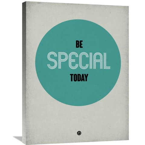 Naxart Studio 'Be Special Today 1' Stretched Canvas Wall Art