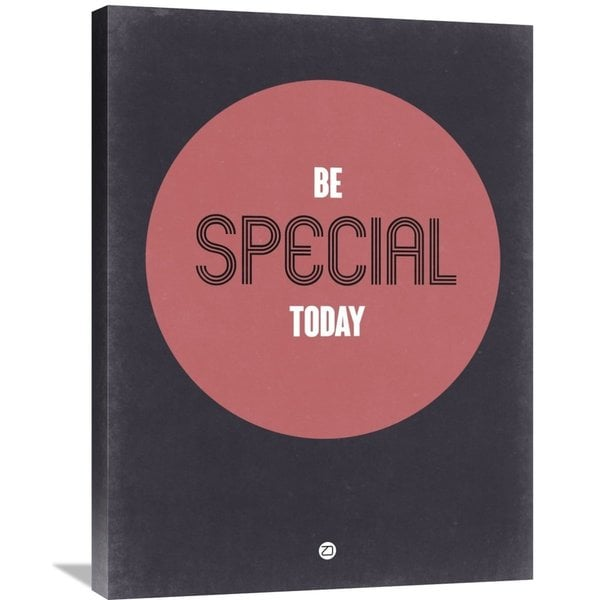 Naxart Studio 'Be Special Today 2' Stretched Canvas Wall Art