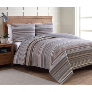 Estate Taj Neutral Pattern Quilt Set