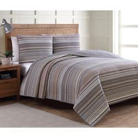 Copper Grove Angelina Neutral Pattern Quilt Set