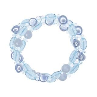 Multicolored Pearl Gemstone Stretch Bracelet