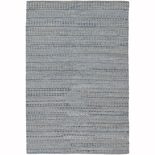 "Artist's Loom Flatweave Contemporary Solid Pattern Rug (5'x7'6"")"
