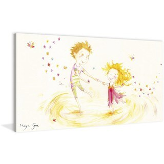 Marmont Hill - 'Celebration Dance' by Maya Gur Painting Print on Wrapped Canvas