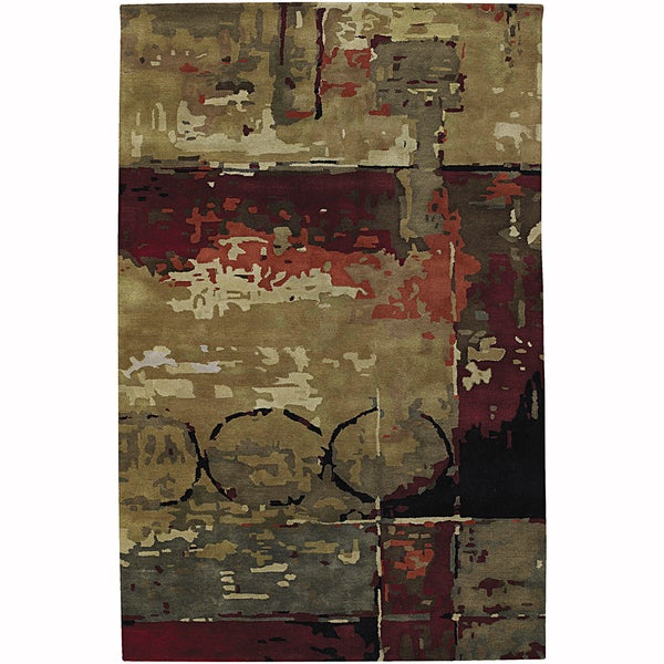 Shop Artist S Loom Hand Tufted Contemporary Abstract