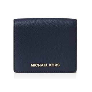 Michael Kors Bedford Admiral Blue Carryall Card Case