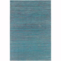 """Artist's Loom Hand-Woven Contemporary Solid Pattern Rug (5'x7'6"""")"""