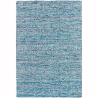 "Artist's Loom Hand-Woven Contemporary Solid Pattern Rug (5'x7'6"")"