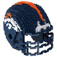 Denver Broncos 3D BRXLZ Mini Helmet