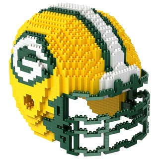 Green Bay Packers 3D BRXLZ Mini Helmet