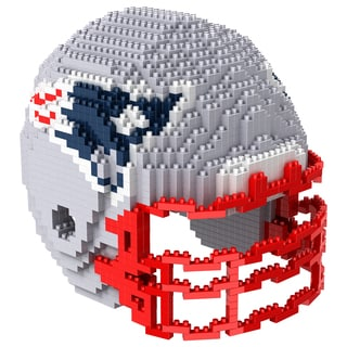 New England Patriots 3D BRXLZ Mini Helmet