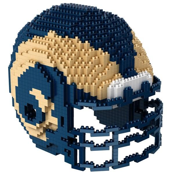 Los Angeles Rams 3D BRXLZ Mini Helmet