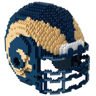 Los Angeles Rams 3D BRXLZ Mini Helmet (Option: Los Angeles Rams)