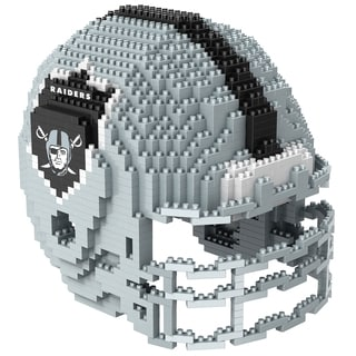 Oakland Raiders 3D BRXLZ Mini Helmet