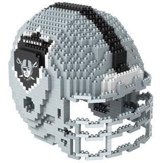 Oakland Raiders 3D BRXLZ Mini Helmet
