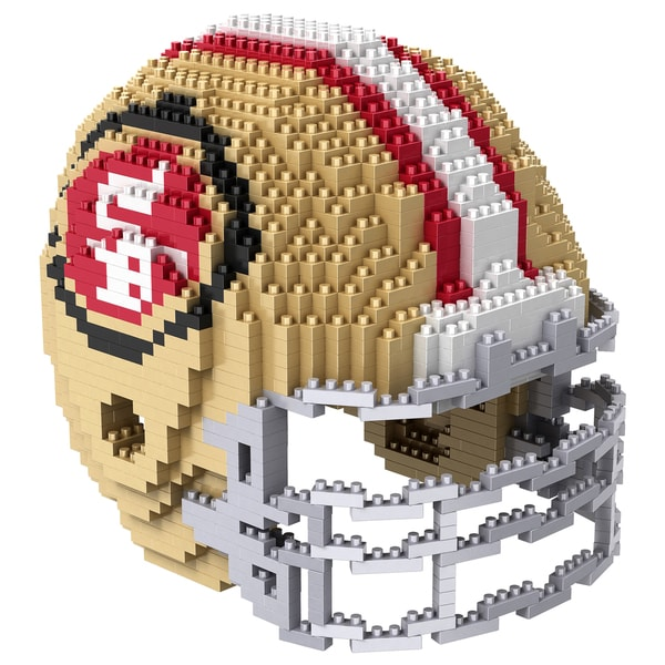 San Francisco 49ers 3D BRXLZ Mini Helmet