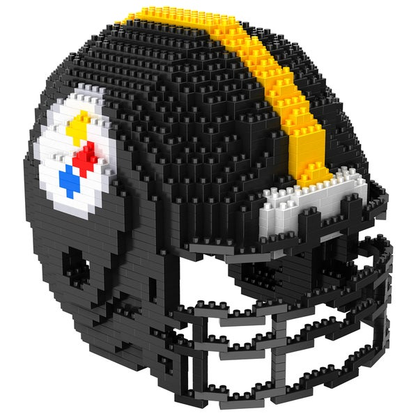 Pittsburgh Steelers 3D BRXLZ Mini Helmet