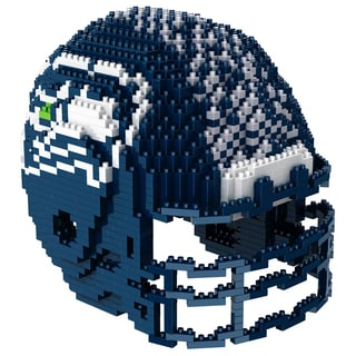 Seattle Seahawks 3D BRXLZ Mini Helmet