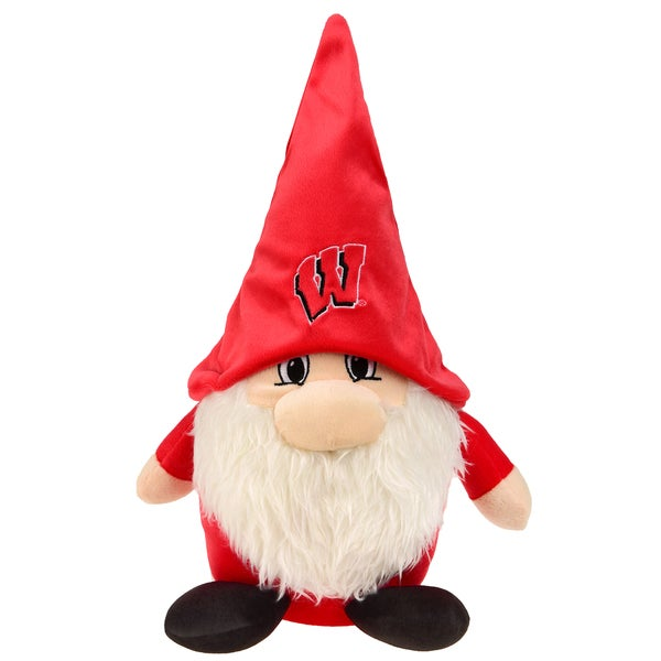 Wisconsin Badgers NCAA 7 In Team Gnome Plush