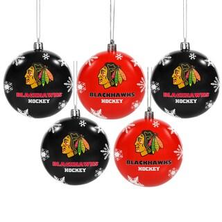Chicago Blackhawks 2016 NHL Shatterproof Ball Ornaments
