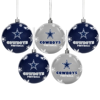Dallas Cowboys 2016 NFL Shatterproof Ball Ornaments