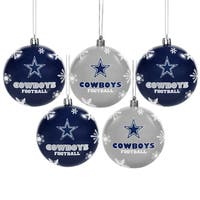 Dallas Cowboys 2016 NFL Shatterproof Ball Ornaments
