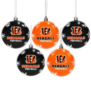 Cincinnati Bengals 2016 NFL Shatterproof Ball Ornaments