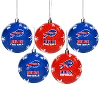 Buffalo Bills 2016 NFL Shatterproof Ball Ornaments