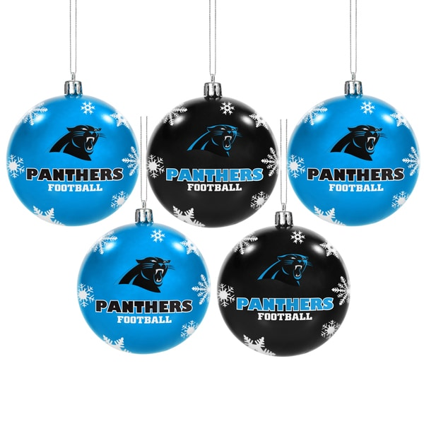 Shop Carolina Panthers 2016 NFL Shatterproof Ball Ornaments - Free Shipping  On Orders Over  45 - Overstock - 13343526 49090470f
