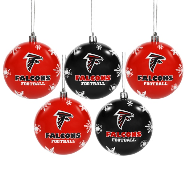 Atlanta Falcons 2016 NFL Shatterproof Ball Ornaments