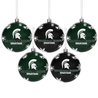 Michigan State Spartans 2016 NCAA Ball Ornaments