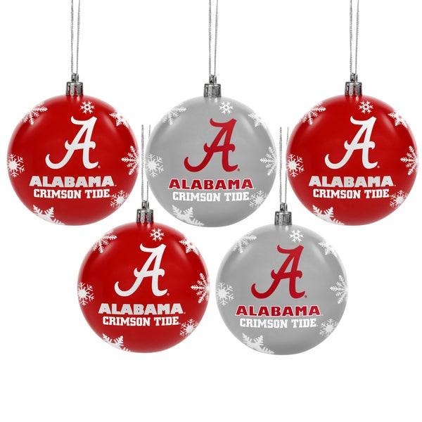 AL Crimson Tide 2016 NCAA Shatterproof Ball Ornaments